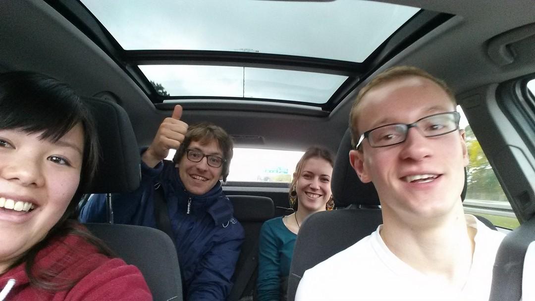 My ride to Berlin