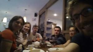 Tanja, Lena, Brecht, Sasha, Margo, Jules