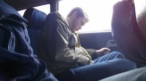 Brecht sleeping