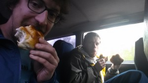 Free sandwiches